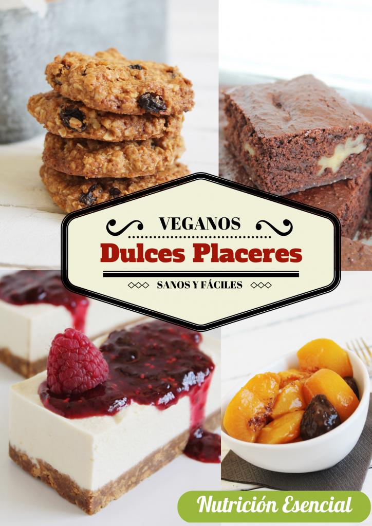 Recetario vegano dulce, gratis para nuestros suscriptores.