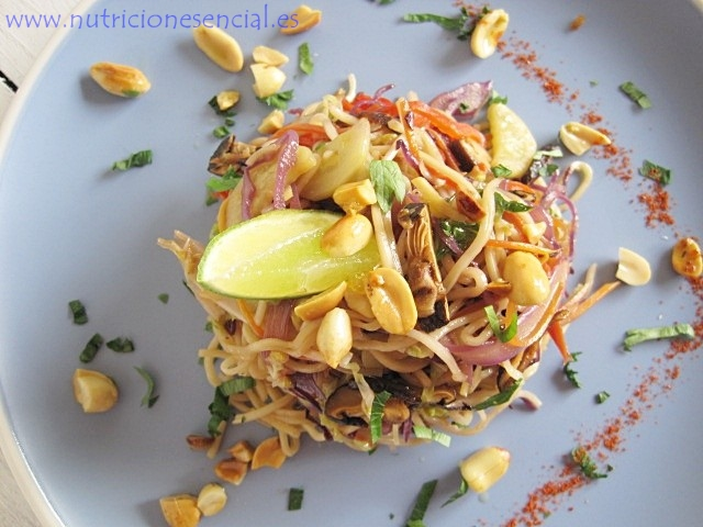 pad thai cook 1