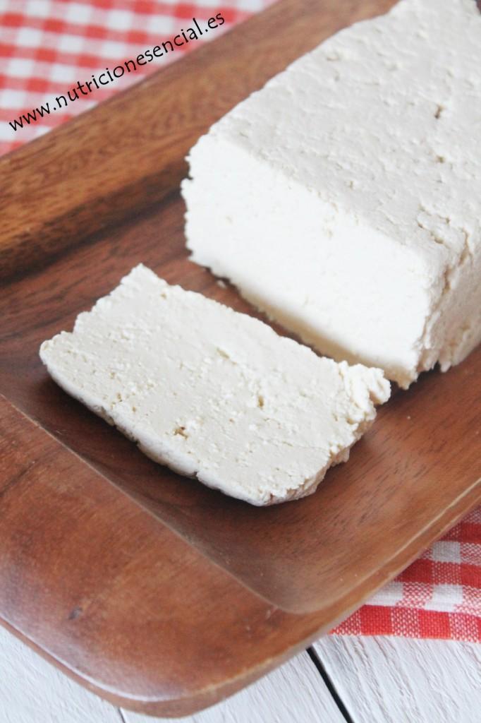 Tofu casero.