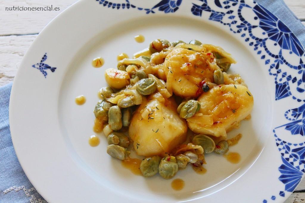 patatas con habas