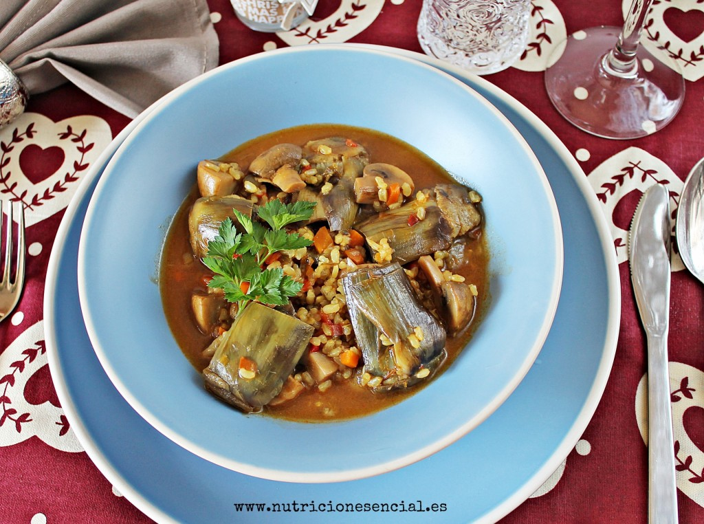 arroz con alcachofas3