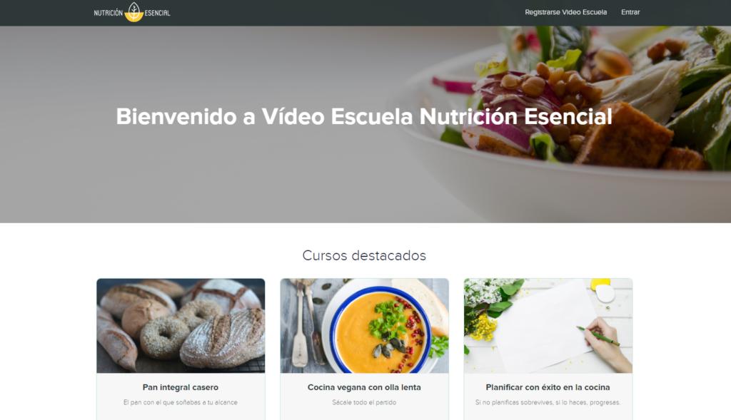Escuela de cocina online